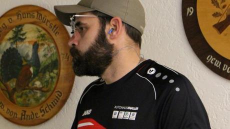 Erstmals in der Bezirksliga Luftpistole verloren hat Markus Gebele mit seinem Königsbrunner Team.