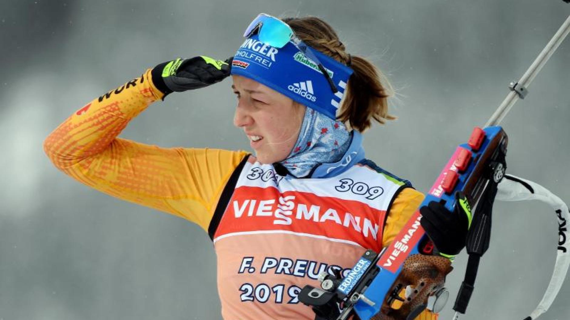 Biathlon Mixed Staffel Olympia 2021