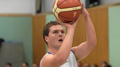 Matthias Ottlik steuerte 13 Punkte zum 86:77-Erfolg der TVA-Basketballer gegen die BG Leitershofen/Stadtbergen II bei.
