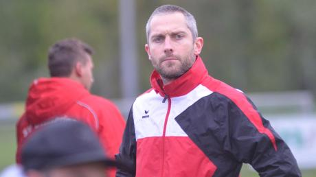 Benjamin Lechner gibt sein Traineramt beim SV Ottmaring ab.
