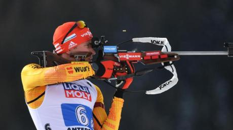 Benedikt Doll hofft im Sprint auf eine Medaille.