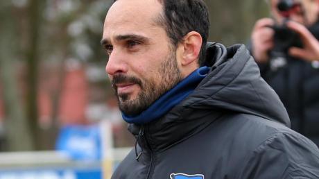 Nach dem Klinsmann-Rücktritt steht Alexander Nouri an der Seitenlinie von Hertha BSC.