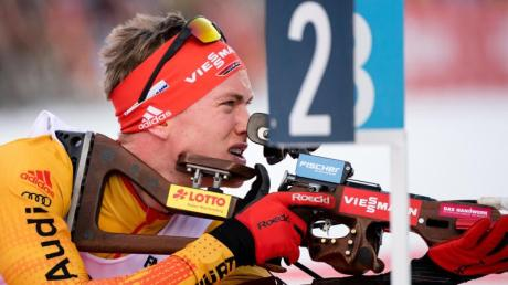 Gehört im WM-Sprint in Antholz zum Favoritenkreis: Benedikt Doll.