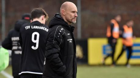 Sven Kresin, Trainer des Bayernligisten TSV Landsberg, kann in der Vorbereitung den zweiten Sieg seiner Mannschaft verzeichnen.