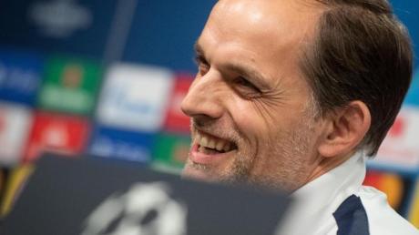 Freut sich auf die Rückkehr an seine alte Wirkungsstätte: PSG-Coach Thomas Tuchel.