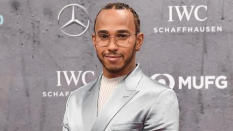 Wurde in Berlin ausgezeichnet: Formel-1-Weltmeister Lewis Hamilton.