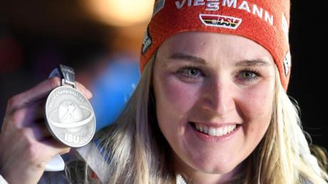 Hofft auch über 15 Kilometer auf eine Medaille: Denise Herrmann.