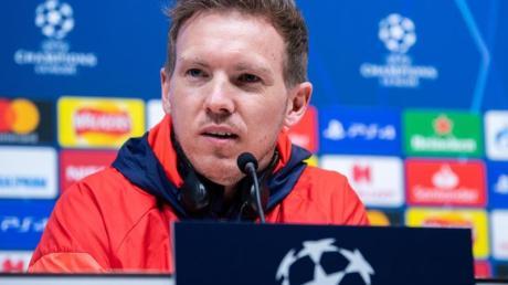 Ist mit Leipzig bei Tottenham Hotspur gefordert: RB-Coach Julian Nagelsmann.