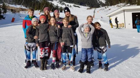 Zahlreiche Spitzenplätze gab es für die Rennläufer des Ski-Clubs Königsbrunn beim Schöffel-Kids-Cup.