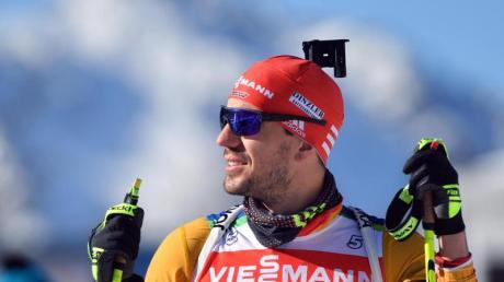 Geht in Antholz als Titelverteidiger über 20 Kilometer ins Rennen: Arnd Peiffer.