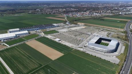 Die WWK-Arena ist die Heimstätte des FC Augsburg.
