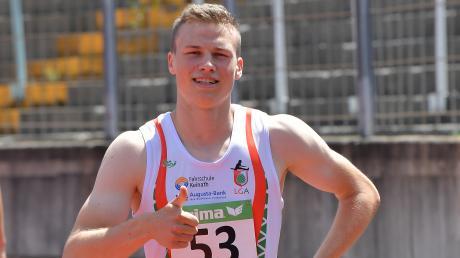 Für den Augsburger Sprinter Aleksandar Askovic geht es nun zur Deutschen Hallenmeisterschaft nach Leipzig.