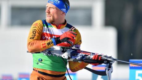Erik Lesser geht bei der WM im Single-Mixed an den Start.