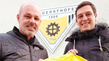 Gerhard Hildmann und sein Sohn Michael bilden in der kommenden Saison das Trainergespann beim TSV Gersthofen.