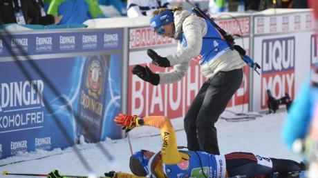 Biathlon-WM 2020, heute 23.2.20: Ergebnisse/Resultate, Gesamtstand und Medaillenspiegel von Antholz.