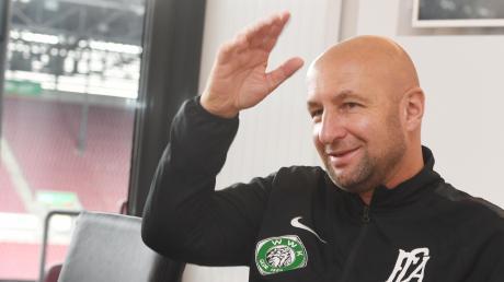 Klaus Hofmann, Präsident des FC Augsburg, ist ein Mann der klaren Worte.