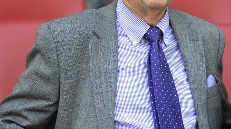 Auch mit 80 Jahren besucht Fritz Scherer, der ehemalige Präsident des FC Bayern München, noch jedes Heimspiel.