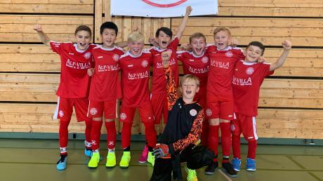 Die U11-Fußballer des TSV Landsberg treten am Samstag bei der oberbayerischen Hallenmeisterschaft an.