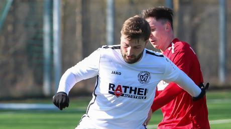 Kommt vom VfR Neuburg zum TSV Burgheim: Stürmer Niko Schröttle.