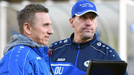 Die Herbstrunde lief nicht nach Plan für den SC Ichenhausen. Die Mienen von Sportleiter Rudi Schiller und Trainer Oliver Unsöld nach dem 1:1 gegen den SV Egg sagen alles.