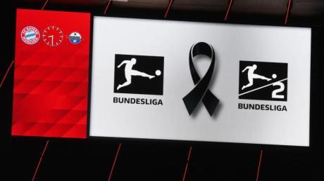 Mit Schweigeminute und Trauerflor bekunden alle Bundesliga-Clubs ihre Trauer um die Opfer des Anschlags von Hanau.