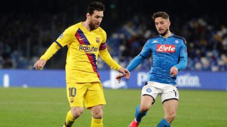 Im Achtelfinale der Champions League wird heute das Rückspiel FC Barcelona vs. Neapel ausgetragen. Hier gibt es die Infos zur Übertragung im Live-TV und Stream.