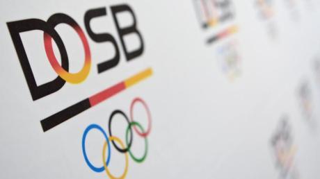 Das Logo des Deutschen Olympischen Sportbundes (DOSB).