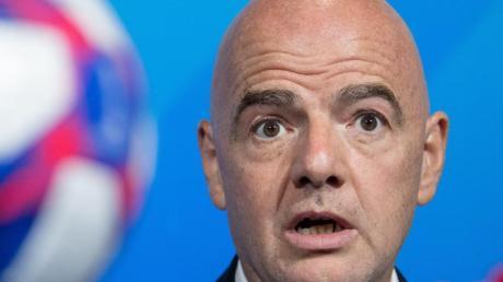 Gianni Infantino ist der Präsident der FIFA.