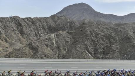 Die UAE Tour der Radprofis wurde nach fünf Etappen abgesagt.