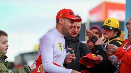 Beliebt bei den Formel-1-Fans: Ferrari-Star Sebastian Vettel.