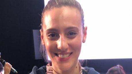 Freut sich über die Bronzemedaille bei der Europameisterschaft: Anna Korakaki vom Luftpistole-Bundesligisten SV Waldkirch.