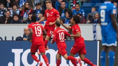 Der FC Bayern München feierte bei der TSG 1899 Hoffenheim einen klaren Auswärtssieg.