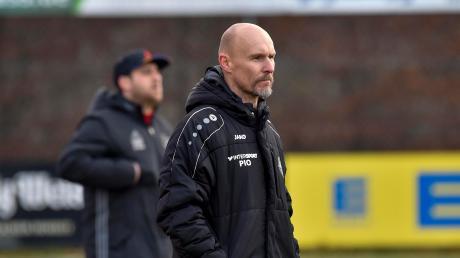 Landsbergs Trainer Sven Kresin ist mit der Leistung seiner Mannschaft im letzten Testspiel zufrieden.