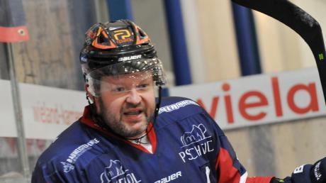 Martin Jainz von den Devils Ulm/Neu-Ulm musste wie einige andere Spieler auch gegen Dingolfing auf die Strafbank.
