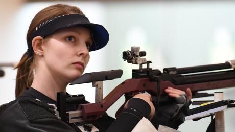 Es hat nicht ganz gereicht: Die Offinger Luftgewehr-Schützin Sabrina Hofhansl steigt mit der BSG-Mannschaft aus der Bayernliga Südwest ab.