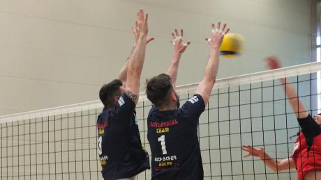 Aichacher Block mit Alex Beck (rechts) und Thomas Baumbach.