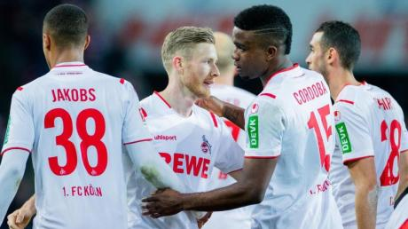 Die Kölner hoffen auf einen Sieg in Paderborn.