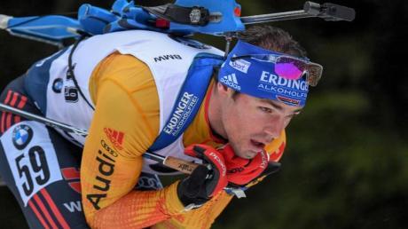 Kehrt in Nove Mesto 2020 in den Biathlon-Weltcup zurück: Simon Schempp. Termine, Live-TV, Datum - hier bekommen Sie alle Infos.