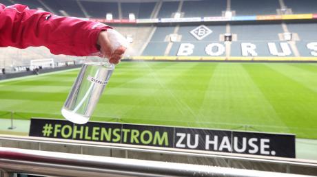 Borussia Mönchengladbach ergreift Schutzmaßnahmen, um Ansteckungen von Fans mit dem Coronavirus vorzubeugen.
