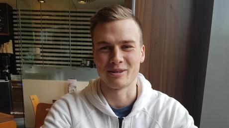 Aleksandar Askovic hat große Ziele: In diesem Jahr will der 22-jährige Augsburger unter anderem an der Leichtathletik-EM in Paris teilnehmen.