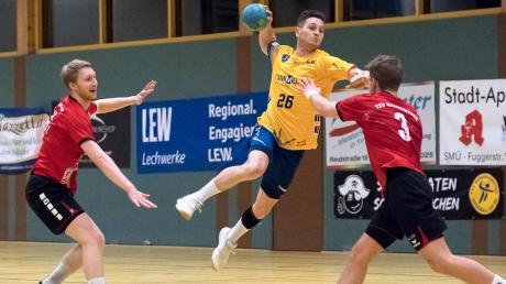 Auf ein Comeback von Spielmacher Leo Reichenberger nach seiner Krankheitspause gegen den Kissinger SC hoffen die Schwabmünchner Handballfans.