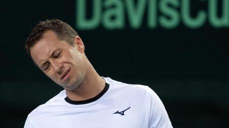 Philipp Kohlschreiber musste sich in seinem Match der weißrussischen Nummer eins mit 6:4, 5:7 und 6:7 geschlagen geben.