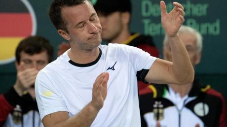 Philipp Kohlschreiber patzte in seinem Einzel gegen den Weißrussen Egor Gerassimow.
