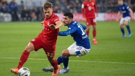 Joshua Kimmich (l) ist beim FCBayern München nicht mehr wegzudenken.
