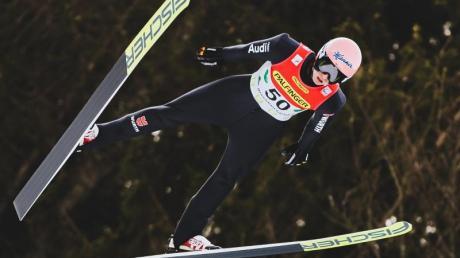 Karl Geiger hofft auf weite Sprünge am Holmenkollen.