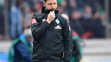 Das Team von Trainer Florian Kohfeldt verspielte in Berlin eine 2:0-Führung.