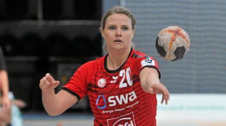 Die Haunstetterin Mona Hoffmann erzielte vier Tore beim 25:31 gegen TuS Metzingen.