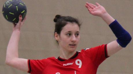 Anna Mahl traf sieben Mal für den TSV Aichach beim Sieg gegen die TSG Augsburg.  Melanie Nießl