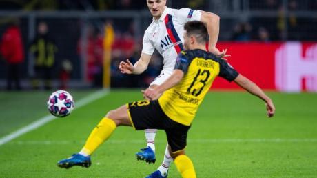 Das Champions-League-Spiel von Borussia Dortmund in Paris wird ohne Zuschauer stattfinden.