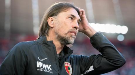 Der FCAugsburg stellte Trainer Martin Schmidt frei.